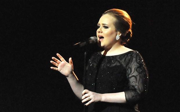 Adele - 2012 Brits Winner