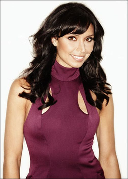 next >; 1 of 14. Christine Bleakley holiday pictures