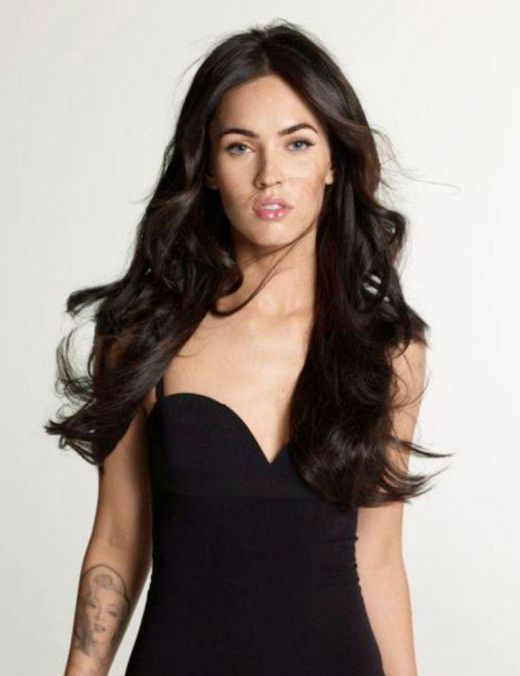 megan fox hair colour. Megan fox short hair images