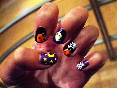 Nail Art Gets Nutty