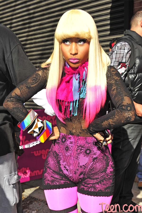 Nicki Minaj Hair Photo Gallery