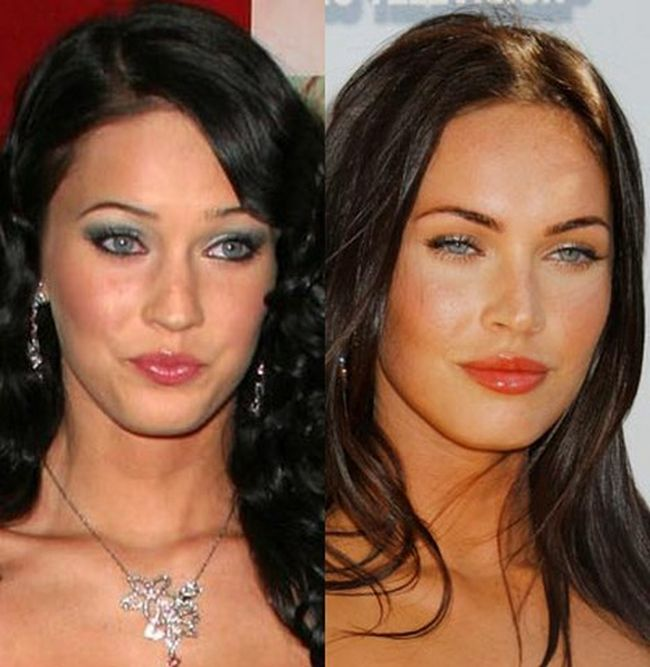 megan fox plastic surgery before. megan fox plastic surgery.