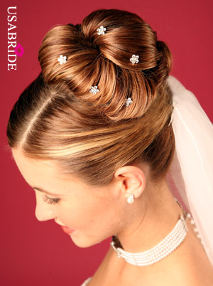 hair style for bridal