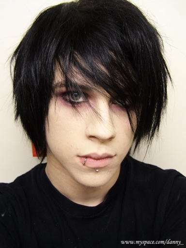 just emo. so sexy this emo boys! especially his hairstyle!