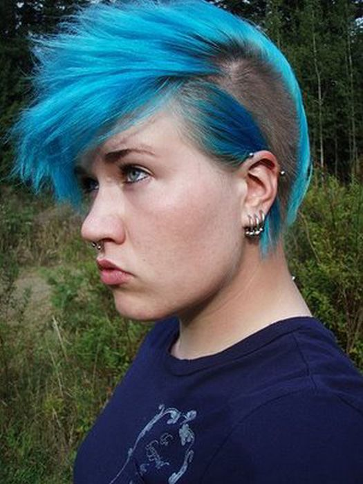 girl punk hairstyle pictures