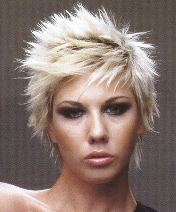 punk hairstyles gallery. girl punk hairstyle pictures