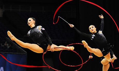 london olympics gymnastic haircut