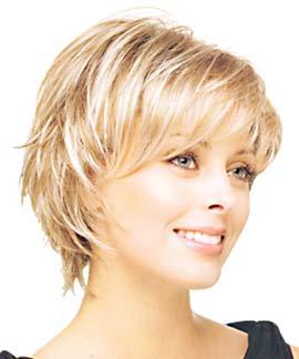 Blonde Layered Haircut Jpg